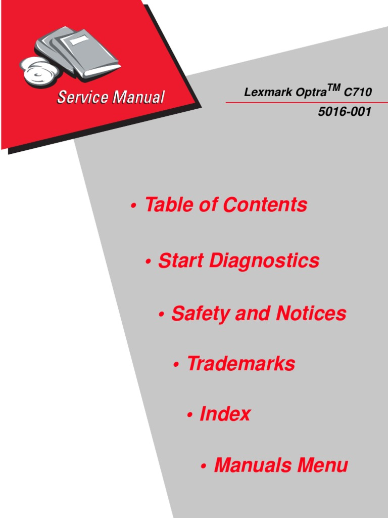 lexmark platinum service manual