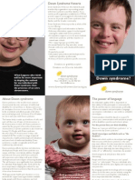 What do you know about Down syndrome?