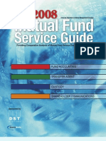 Mutual Fund Service Guide 2008