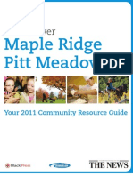 Discover Maple Ridge & Pitt Meadows - Your 2011 Community Resource Guide