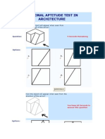 National Aptitude Test in Architecture