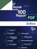 Social Media Top 100 Brands