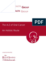The A-Z of Oral Cancer An Holistic Route
