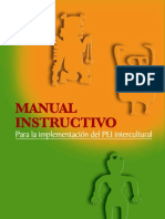 Manual Instructivo Implm.pei Intercultural
