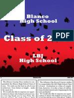 Blanco County 2011 Graduation Guide