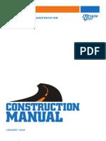 2009 NDOT Construction Manual