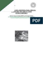 0901 Protocolo Anest Cir Cor Sin Cir Extracorp