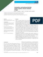Iron-Binding Characterization and Polysaccharide Production by Klebsiella Oxytoca Strain Isolated From Mine Acid Drainage.