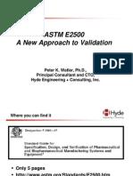 ASTM E 2500 - Watler