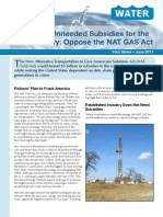 Say No to Unneeded Subsidies for the Gas Industry