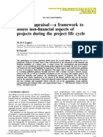 Project Appraisal a Framework to Assess Non-financial Aspects of Projects