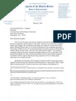 Letter From Congressman Issa to SEC Chairman Schapiro Regarding Capital Formation (Mar. 2011)