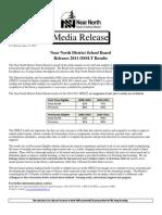 Nndsb 2011 Osslt Results, June 15, 11