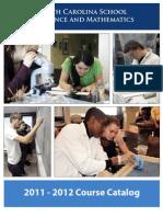 NCSSM Course Catalog 2011-2012