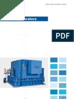 WEG Turbo Generator 687 Brochure English