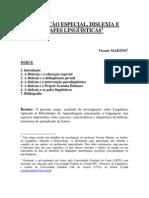 Educaçao Especial Dislexia e Gafes Linguísticas - Vicente Martins