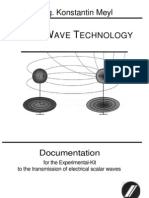 Meyl - Scalar Wave Technology - Documentation for the Experimental-Kit to the Transmission of Electrical