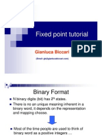 Fixed Point Tutorial