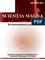 Scientia Magna, Vol 7, No. 1, 2011