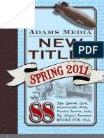 Adams Media Spring 2011 Frontlist Titles