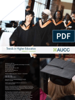 AUCC, 2011-Trends in Higher Education. Volume 1