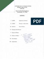 Crawford Bay - 2011 Annual Meeting - Handout 6/14/2011