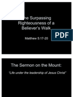 The Sermon on the Mount Part 4