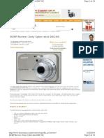 Sony Camera Manual