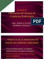 Unidad IV Obturacion Del Sistema de Conductos Radiculares