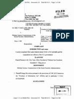 TAITZ v ASTRUE (U.S.D.C. D.C. - 16 -Redacted COMPLAINT against MICHAEL ASTRUE  - gov.uscourts.dcd.146770.16.0