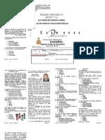 Examen Segundo Grado IV Bimestre Espanol
