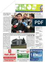 Vecinos. diciembre 2008. Informativo de la Asocición de Vecinos El Tajo del Polígono de Toledo