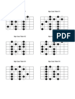 Guitar - Major Scale Positions