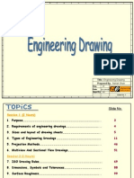 Engineering Drawing BASICS | Engineering Tolerance | Engineering
