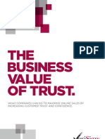 The Business Value of Trust - UK