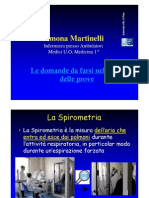 La Spirometria - Simona Martinelli