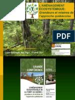 Aménagement écosystémique de la forêt au Québec
