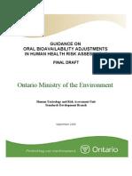 060105-Bioavailability Report - Final Draft1