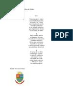 Himno de la universidad católica del Táchira