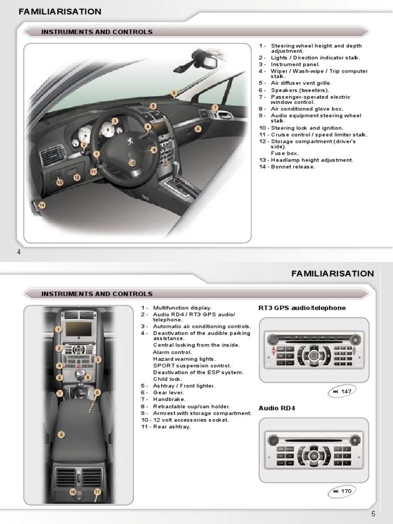 manual peugeot 407 2006 automatic transmission manual transmission rh pt scribd com Peugeot 308 SW Peugeot 206 SW Terpakai Malaysia