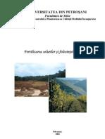 Fertilizarea Solurilor Si Folosintele Terenurilor