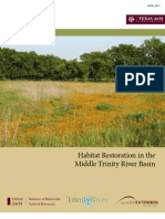 Habitat Restoration in the Trinity River Basin