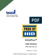 Entryprox Ins En | Personal Digital Assistant | Relay