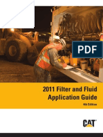 Caterpillar Filter and Fluid Application Guide