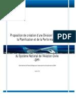 Division de La Planification Et de La Performance
