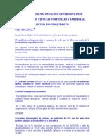 Med. Hum 2010 - Ciclos Biogeoquimicos