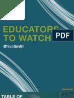 Educators to Watch