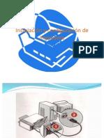 Instalación y configuración de impresora