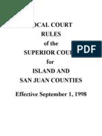 Island Court Rules
