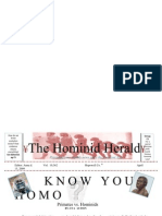 The Hominid Herald